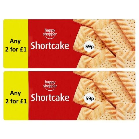 Shortcake Biscuits Happy Shopper 150g (2 Pack)